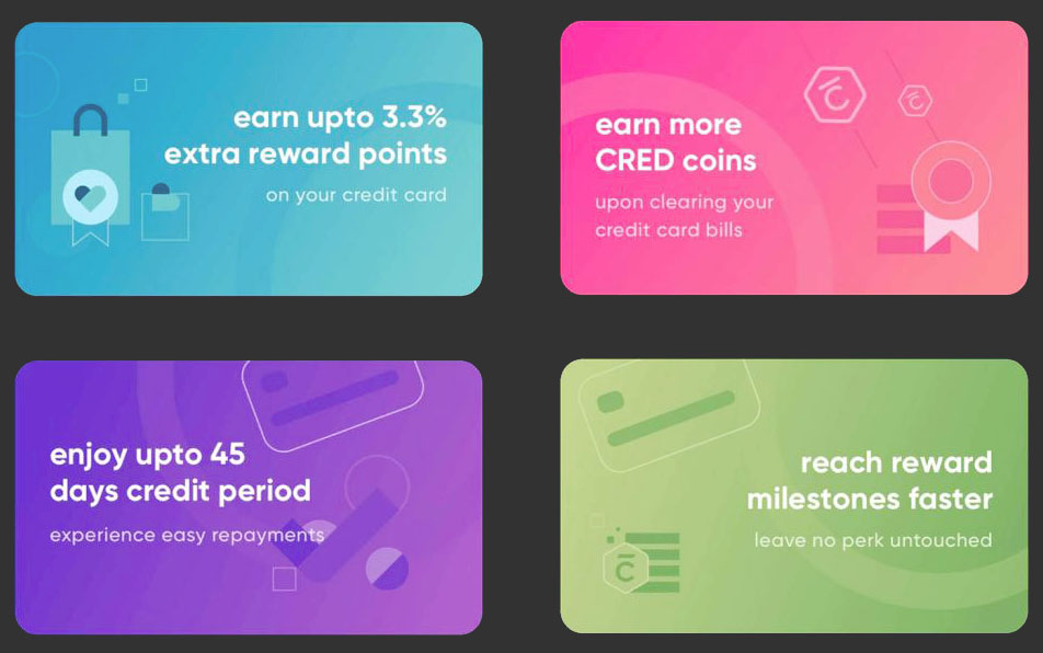 Cred RentPay Benefits - Reward Points Free Credit Period
