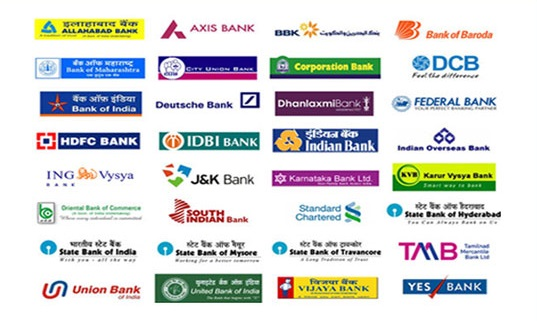 List of Public and Private Sector Banks with Taglines