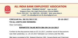 11th BPS Talks Update 24 oct 2017