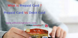 Prepaid Card Vs Debit Card