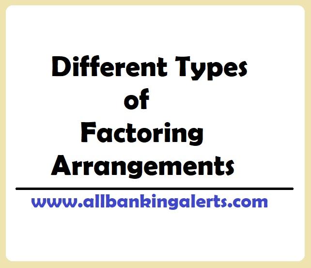 different types of factoring arrangements