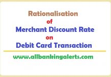 Rationalisation of MDR on Debit Card Transactions