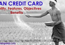 Kisan Credit Card Eligibility Features Benefits Objectives
