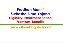 PMSBY Eligibility Premium Enrollment Period Insurance Benefits