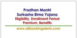 PMSBY Eligibility Premium Enrollment Period Insurance Benefits