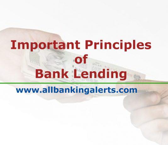 Principles of Lending in Banking