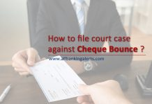 How to file court case against cheque bounce