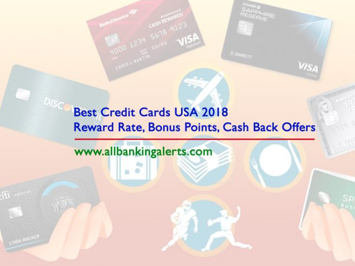 Best Credit Cards 2018 USA Chase Sapphire Preferred Card