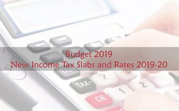 Budget 2019 New Income Tax Slabs Rates 2019-20