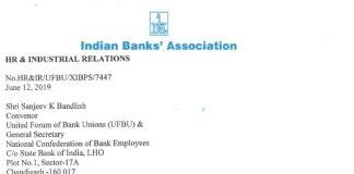 11th BPS IBA UFBU Meeting 19 June Update