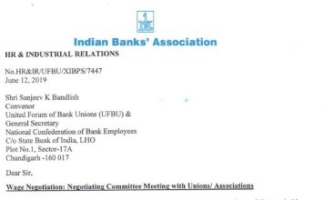 11th BPS IBA UFBU Meeting 19 June Update