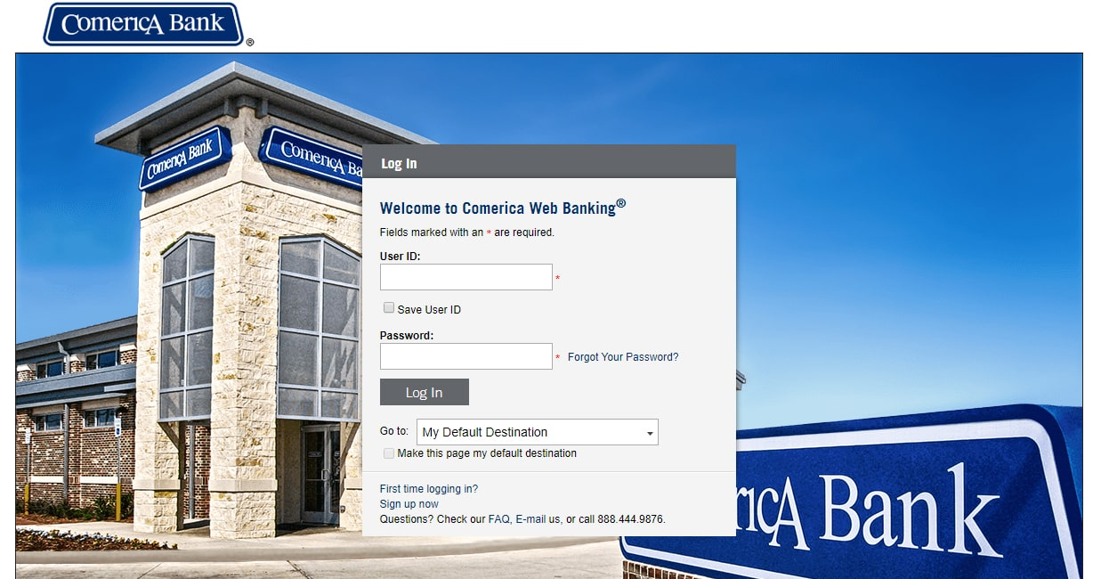 Comerica Web Banking Online Login Register to Access Features