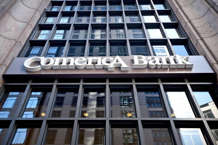 Dallas based Comerica bank appointed James Herzog as interim CFO