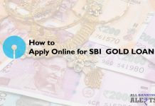 Apply Online for SBI Gold Loan