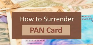 How to Surrender PAN Card - Know the rules for surrendering PAN card