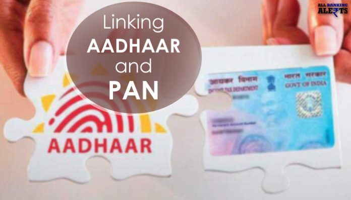 Know the process of linking Aadhaar Number to PAN