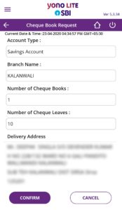 Confirm Delivery Address