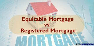 Difference between equitable mortgage and registered mortgage
