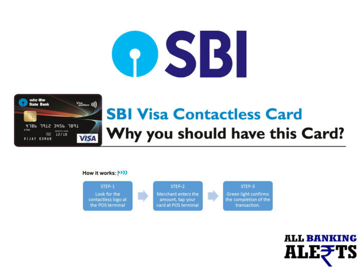 SBI Visa Contactless Card - How it Works