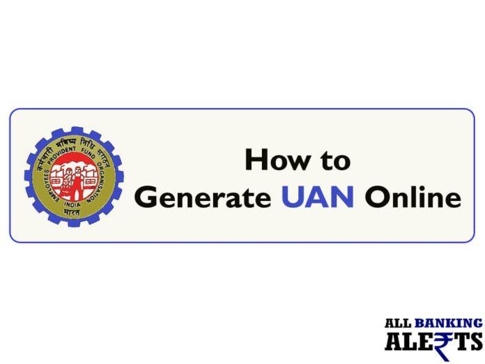 How to Generate PF UAN Online - Activate UAN
