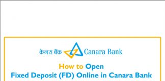 How to open fd online in canara internet banking, fixed deposit online in canara bank