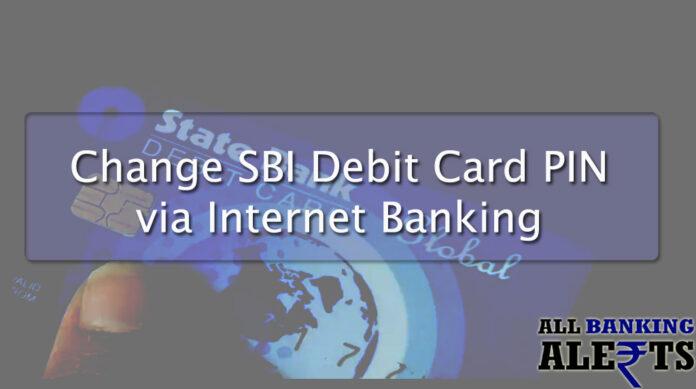 How to Change SBI Debit Card - SBI Online Banking
